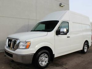 2018 Nissan NV Cargo NV2500 HD SV: V8, Rear View Camera, High Ro