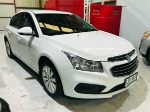 2016 Holden Cruze JH Series II MY16 Equipe White Manual Hatchback Mawson Lakes Salisbury Area Preview