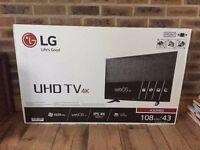 LG 4K UHD 2160P SMART TV | Practically Brand New | Box with Warranty