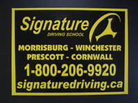 SIGNATURE DRIVING SCHOOL~ WINCHESTER COUPON