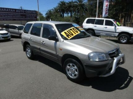 2001 Mazda Tribute Limited Gold 4 Speed Automatic 4x4 Wagon