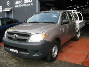 2006 Toyota Hilux TGN16R 06 Upgrade Workmate Bronze 5 Speed Manual Dual Cab Pick-up Camden Camden Area Preview