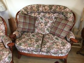 Bargain must go - 2 Seater settee plus matching arm chair