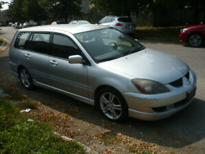 2004 Mitsu. Lancer Sportback(Ralliart) Wagon/many sport features