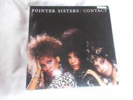 Vinyl LP Contact Pointer Sisters RCA PL 85487 Stereo 1985