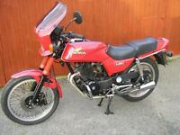 Honda CB250RS, 1981, 22.7K miles. Good condition for 35 years old.