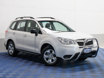 2013 Subaru Forester S4 MY13 2.5i Lineartronic AWD White 6 Speed Constant Variable Wagon Morley Bayswater Area Preview