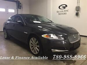 2013 Jaguar XF V6 3.0 S/C AWD,Portfolio,loaded,LIKE NEW!