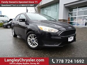 2016 Ford Focus SE ACCIDENT FREE w/ ULTRA LOW KMS!
