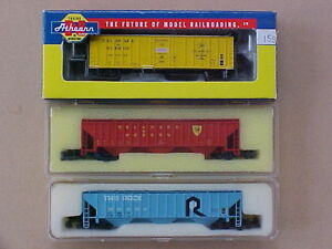 N scale Atlas, Athearn + other train model railroad freight cars Kingston Kingston Area image 4