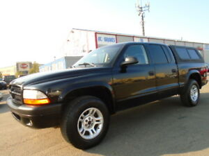 2003 Dodge Dakota SLT SPORT 4X4-QUADECAB-LEATHER-WITH CANOPY