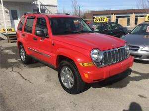 2005 Jeep Liberty 4X4 Cuir Toit Ouvrant
