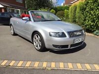 Audi S4 Quattro Cabriolet - Stunning condition and drives as well as it looks.