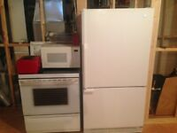 Poele et frigo / fridge and stove