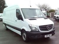 Mercedes-Benz Sprinter 314 LWB H/R VAN EURO 6 DIESEL MANUAL WHITE (2017)