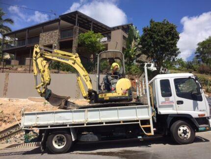 Excavator,Truck,HD Trailer Set Up $95,000
