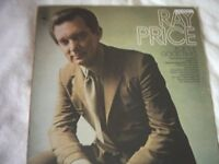 Vinyl LP Ray Price For The Good Times – CBS 64639 Stereo 1971