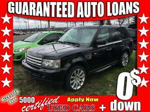 2006 Land Rover Range Rover Sport SC $0 Down - All Credit Approv