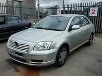 TOYOTA AVENSIS T2 1794 CC PETROL 2003 REG 5 DOOR (BREAKING ALL PARTS AVAILABLE)