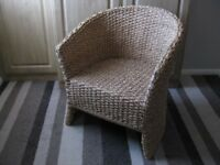 Wicker chair,armchair.