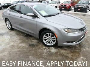 2016 Chrysler 200 Limited HEATED SEATS! ALLOYS! CRUISE! USB/AUX!