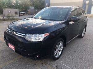 2014 Mitsubishi Outlander AWD|Sunroof|Back Up Cam|Accident Free|