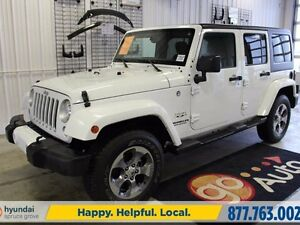 2016 Jeep Wrangler Unlimited SAHARA UNLIMITED 4X4/NAV/CRUISE/HAR