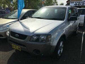 2008 Ford Territory SY MY07 Upgrade TX (RWD) Silver 4 Speed Auto Seq Sportshift Wagon Campbelltown Campbelltown Area Preview