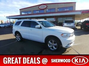 2015 Dodge Durango 4WD LIMITED DVD Accident Free,  Rear DVD,  Le