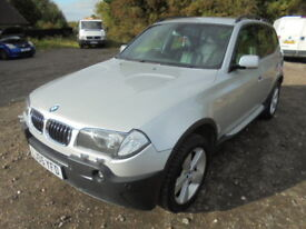 BMW X3 2.5i SPORT, FULL SERVICE HISTORY, AUTOMATIC. (silver) 2005