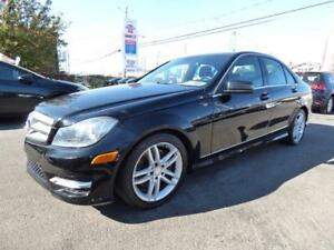2013 MERCEDES-BENZ C300 4MATIC (79,000 KM, TOIT, CUIR, FULL!!!)