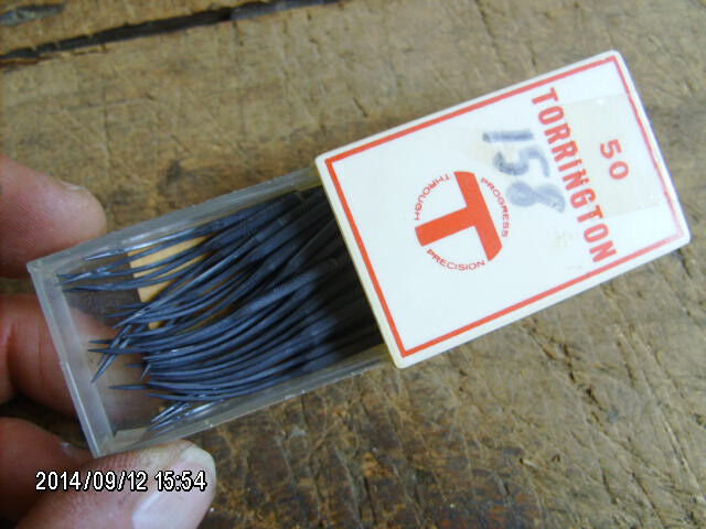 49 pc pack TORRINGTON 158 coated overlock sewing machine needles