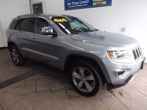 2016 Jeep Grand Cherokee Limited 4x4 LEATHER SUNROOF