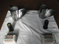 Mercury Marine Stainless Steel Hi Performance Propellers