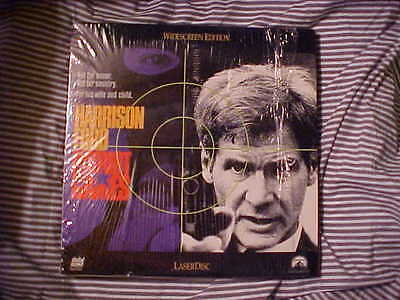 Laserdisc PATRIOT GAMES Harrison Ford Richard Harris Widescreen Edition Movie