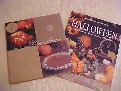 2 Halloween Cookbooks: Holiday Pumpkins + BH&G Halloween