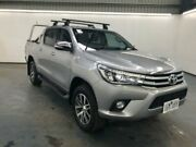 2015 Toyota Hilux GUN126R SR5 (4x4) Silver Sky 6 Speed Automatic Dual Cab Utility Albion Brimbank Area Preview