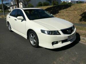 2004 Honda Accord Euro CL Luxury White 5 Speed Automatic Sedan Underwood Logan Area Preview