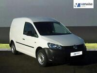 2013 Volkswagen Caddy C20 TDI 75 Diesel white Manual