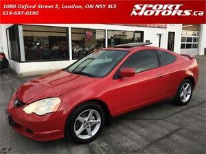 2003 Acura RSX Premium! New Brakes! A/C! Leather! Sunroof! Auto!