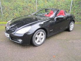 Mercedes-Benz SLK SLK 200K 2DR Tip Auto Convertible (obsidian black) 2009