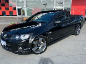 2013 Holden Ute VE Series II SV6 Z Series Utility 2dr Man 6sp 3.6i Black Manual Utility Como South Perth Area Preview