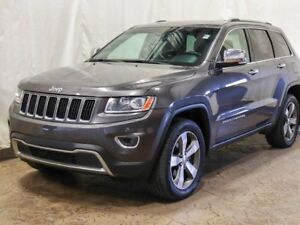 2015 Jeep Grand Cherokee Limited 4WD w/ Sunroof, Leather