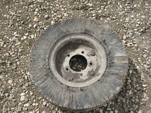 Puncture Proof Segmented Tire for Rotary Mower