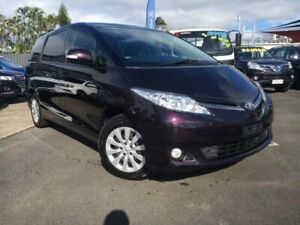 2014 Toyota Tarago ACR50R MY13 GLi Purple 7 Speed Constant Variable Wagon Bungalow Cairns City Preview