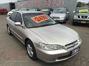 1999 Honda Accord V6 Gold 4 Speed Automatic Sedan Lansvale Liverpool Area Preview
