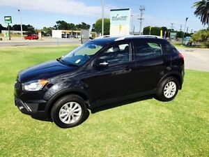 2015 Ssangyong Korando C200 MY14 Update S Space Black 6 Speed Manual Wagon Maddington Gosnells Area Preview