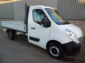 Renault Master ML35 DCi single cab drop side pick up 2011