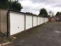 Lockup and leave garage off Moor Lane, Chessington