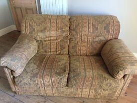 2 x 2 Seater Sofas - Free